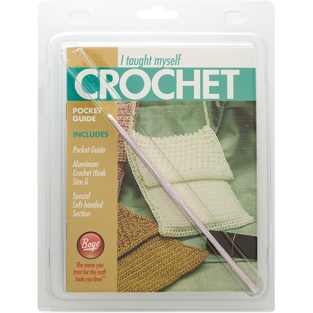 I Taught Myself To Crochet Pocket Guide-  6390