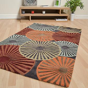 Contour Rugs Con26 Multi Coloured