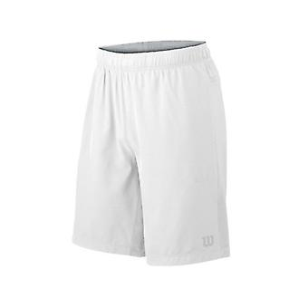 "Wilson Hybrid Stretch Woven Knit 9"" Shorts white Herren WRA730801"
