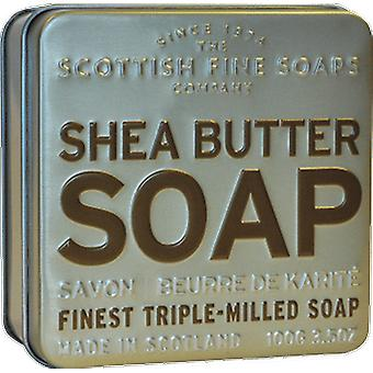 Scottish Fine Soaps Shea Butter Soap in a Tin