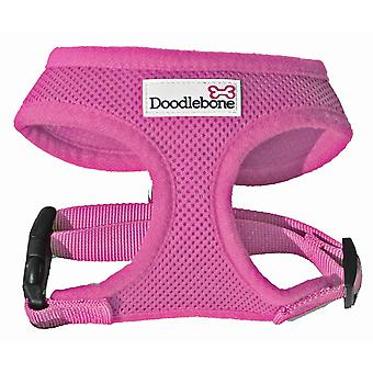 Doodlebone Harness Pink Extra Small 28.5-39cm
