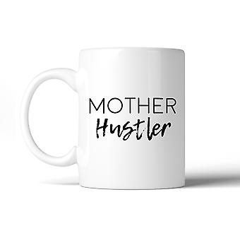 Moeder Hustler grappig keramische mok humoristische giftideeën voor moeders