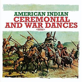 American Indian Ensemble - American Indian ceremoniella & krig danser [CD] USA import