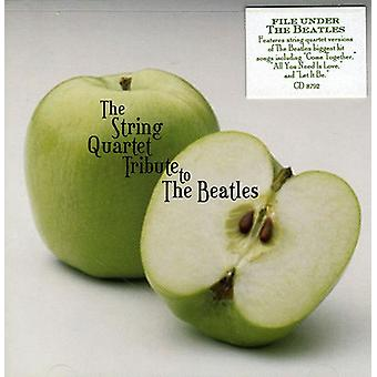 Tribute to Beatles - String Quartet Tribute to the Beatles [CD] USA import