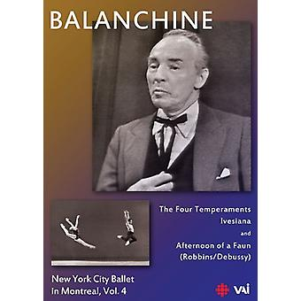 Balanchine: New York City Ballet i Montreal 4 [DVD] USA import