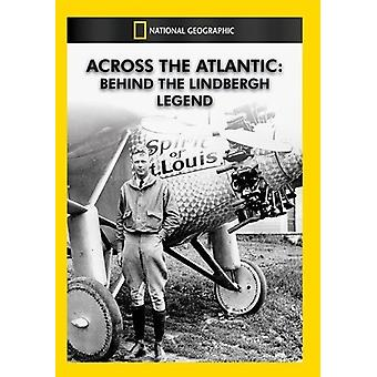 Across the Atlantic: Behind the Lindbergh Legend [DVD] USA import