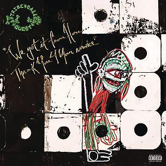 Tribe Called Quest - vi fik sig herfra: tak 4 din tjeneste [Vinyl] USA importerer