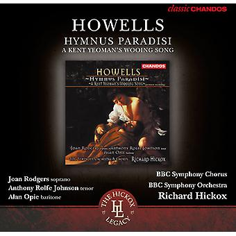 H. Howells - Herbert Howells: Import USA Hymnus Paradisi [CD]