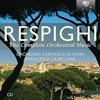 Orchestra Sinfonica Di Roma - Respighi: Vollständige Orchestermusik [CD] USA import