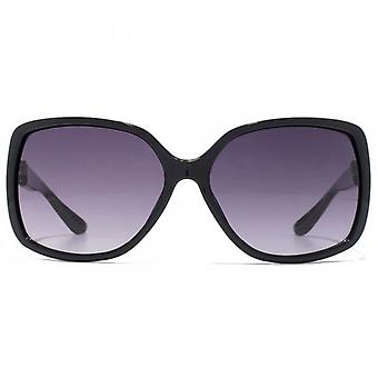 Carvela Large Square Sunglasses In Black