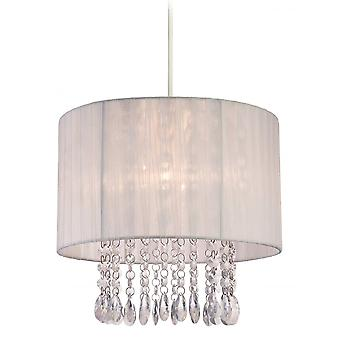 Firstlight Modern Shabby Chic Black Easy Fit Chandelier