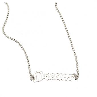 W.A.T Sterling Silver Chain Dream Necklace