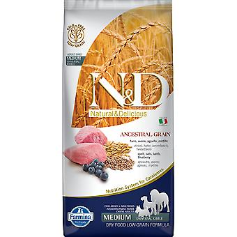 Farmina N&D Low Ancestral Grain Adult Medium Agneau et Myrtille