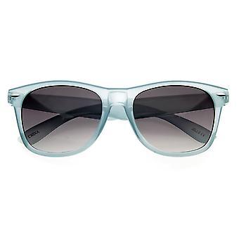 Jello Candy farve lyse farverige gennemsigtige Horn kantede solbriller