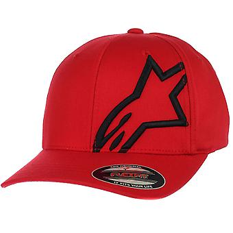 Alpinestars Flexfit Curve Cap ~ Corporate Shift 2 red/black