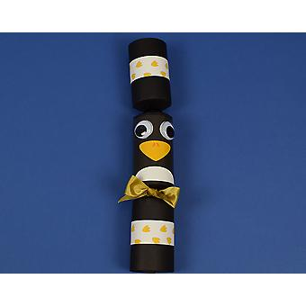 Craft Kit to Make 8 Wobbly Eyed Penguin Fill Your Own Party Crackers