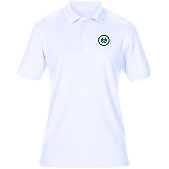 Saudi Air Force Roundel ricamato Logo - Mens Polo Shirt