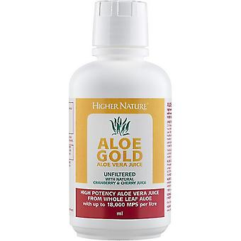 Aloe de naturaleza superior oro cereza/arándano, 485ml