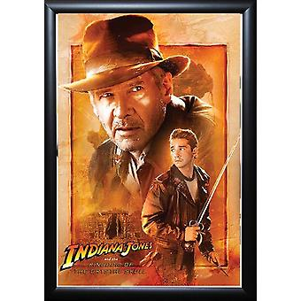 Indiana Jones and the Kingdom of the Crystal Skull - Signed Movie Poster