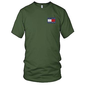 Taliban Hill fighter Embroidered Patch - Mens T Shirt