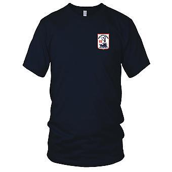 E.U. Marinha RAD 92 Rio assalto divisão noventa e dois Patch Bordado - o rio ratos Mens T-Shirt
