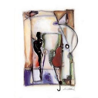 Jazz Bass Poster Print by Alfred Gockel (20 x 28)