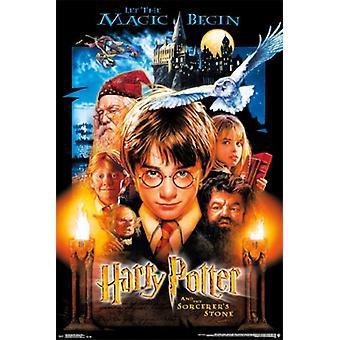 Harry Potter - Sorcercers Sto plakatutskrift plakat
