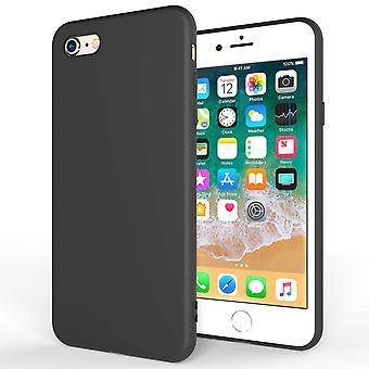 iPhone 8 Ultra tunn Gel Case - matt svart