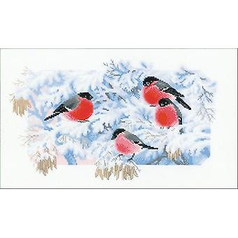 Frosty Morning Counted Cross Stitch Kit-15.75