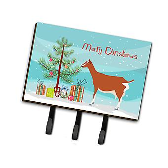 Carolines Treasures  BB9248TH68 Toggenburger Goat Christmas Leash or Key Holder