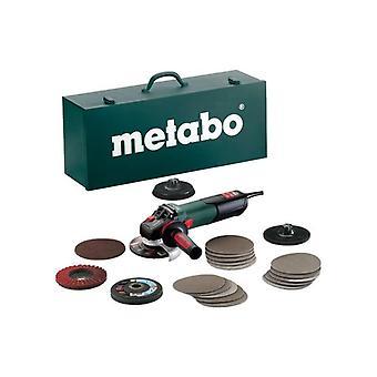 Inox rápido Metabo WEV 15-125 SET de amoladora angular de 240V