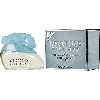 Delicious Feelings (New) By Gale Hayman Edt Spray 3.3 Oz