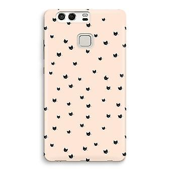Huawei P9 Full Print Case - Little cats