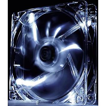 PC fan Thermaltake Pure 12 LED Clear (W x H x D) 120 x 120 x 25