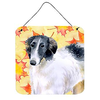 Carolines Treasures  BB9933DS66 Borzoi Fall Wall or Door Hanging Prints