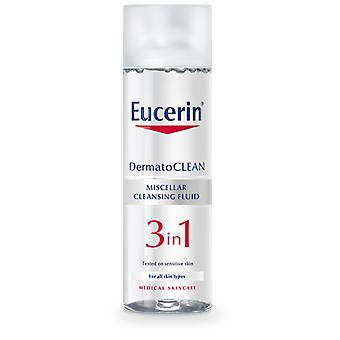 Eucerin Eucerin 3 in 1 Micellar Solution 200Ml (Cosmetics , Facial , Facial cleansers)