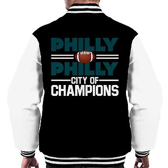 Philadelphia Eagles Philly City Of Champions Männer Varsity Jacket