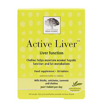 New Nordic Active Liver, 30 Tablets