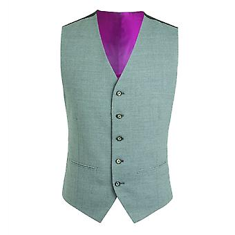 Gibson Londres Gibson London gris Semi plaine Slim Fit gilet