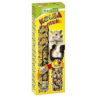 Tyrol Sticks  2In1  For Rodents And Rabbits - Eggs And Fruits (Small pets , Treats)