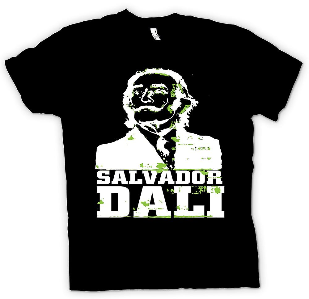 Kids T-shirt - Salvador Dali Portrait - Surreal Art