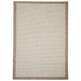 Outdoor carpet for Terrace / balcony beige natural Essentials chrome 200 / 290 cm carpet indoor / outdoor - for indoors and outdoors
