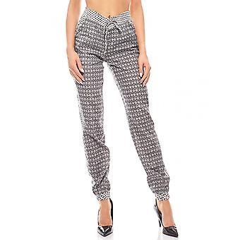 Ethno harem pants trousers ladies black AjC