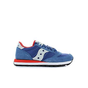 SAUCONY ORIGINALS JAZZ BLUE/RED SNEAKER