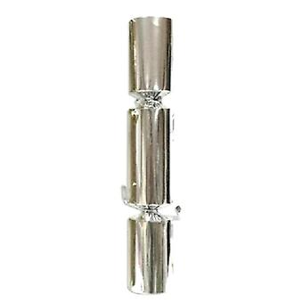 """12"""" Silver Shiny Crackers - 50 * ONLY 3 BOXES LEFT IN STOCK **"""