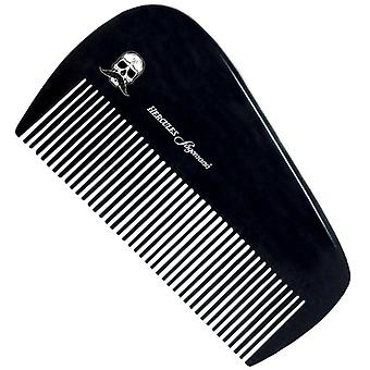 Hecules Sagemann Small Beard Comb Ebonite