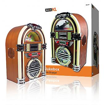 basicXL Jukebox with AM/FM radio and CD player