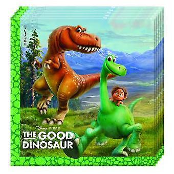God Dinosaur Dino Arlo & spot partiet servietter 33 x 33 cm 20pcs barn bursdag tema party