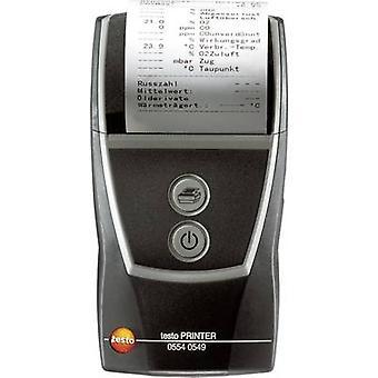 Printer testo 0554 0549 testo quick printer, Compatible with (details) Testo device with IRDA interface 0554 0549