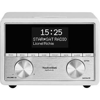 TechniSat DigitRadio 80 DAB+ Radio alarm clock AUX, DAB+, FM White